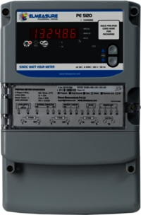 3 Phase Prepaid Energy Meter (Ct Operated) With Inbuilt Gprs