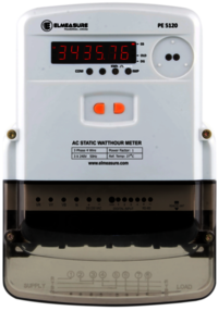 3 Phase Prepaid Energy Meter (Whole Current) With Rs 485
