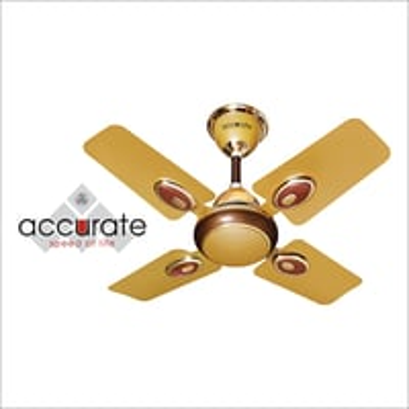 4 Blade Royal Gold Ceiling Fan