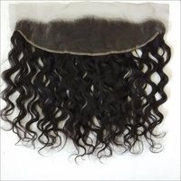 Deep Wavy human hair  frontal