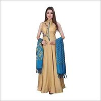 Ladies Fine Embroidery Gown
