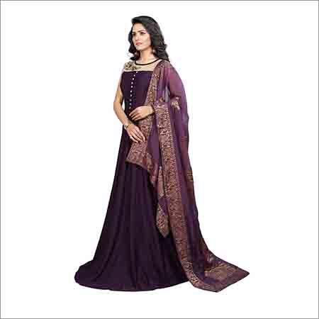Ladies Party Wear Designer Gown