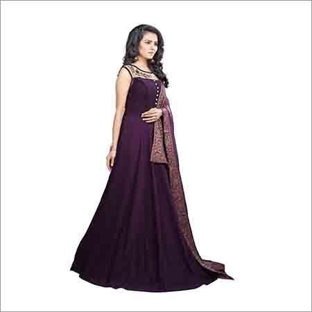 9dbaf64db2 Ladies Party Wear Designer Gown Manufacturer