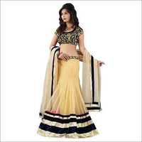 Ladies Embroidered Blouse Lehenga