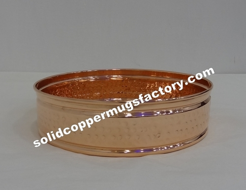 Solid Copper Bar Tray