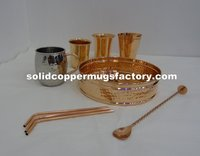 Copper Bar Tray