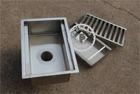 Stainless steel Drain Trough Gratings