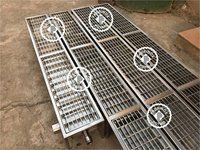 Stainless steel Heavy Duty Drain Gratings