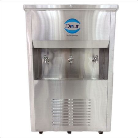 Three Tap Water Cooler