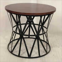 Iron & Wooden Table