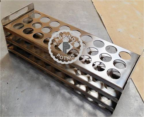 Stainless Steel Test tube Stand