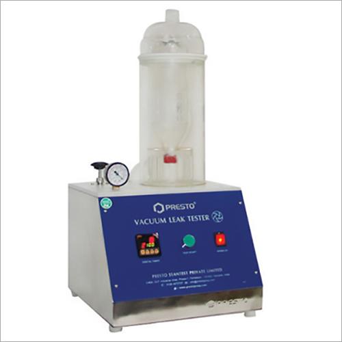 Vacuum Leak Tester Digital for PET Bottles
