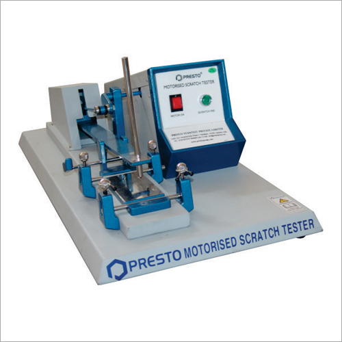 Scratch Hardness Tester - Motorised