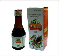 Fruit Aid-multivitamin & Multimineral Syrup