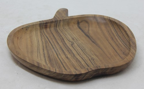 Wooden Platter In Acacia Wood