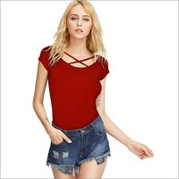 Ladies Cross Neck Top