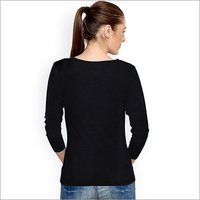 Ladies Plain Black Top