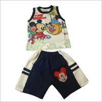 Kids T-Shirt With Shorts