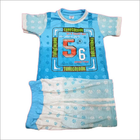 Baby Printed T-Shirt And Shorts Set