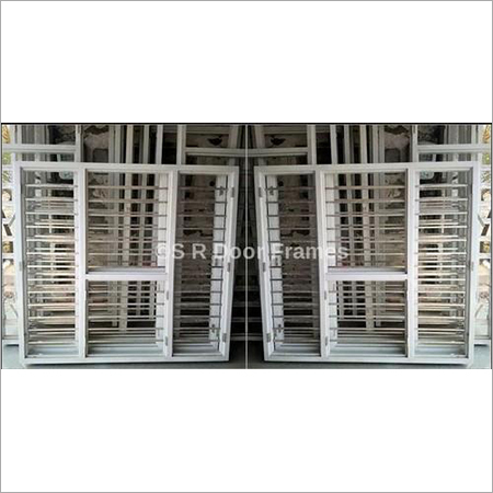Color Coated Steel Window Frames