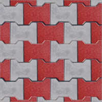 I Shape Interlocking Paving Blocks