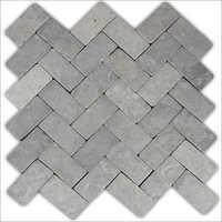 Zigzag Stone Mosaic Tile