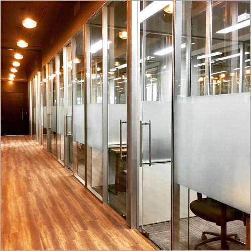 Modular Aluminum Glass Partition