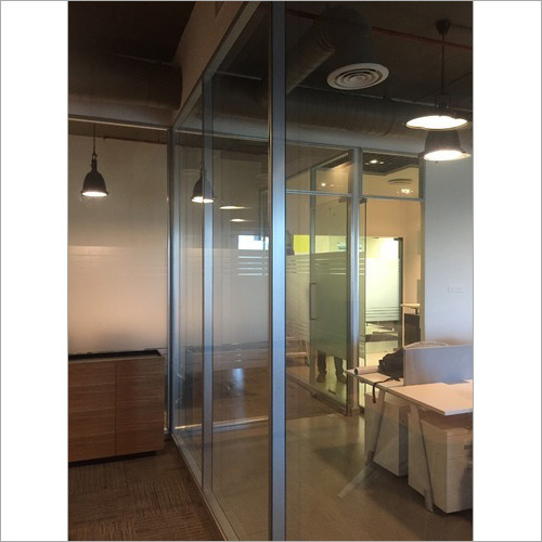 Aluminum Door Office Partition