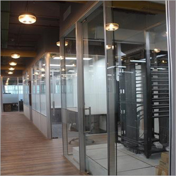 Framed Office Glass Office Partitions