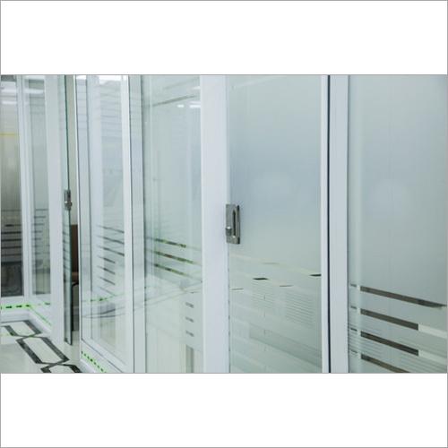 Aluminium Double Glass Partitions