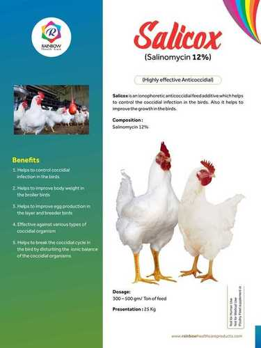 Salinomycin 12% Granules