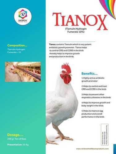 Tiamulin Hydrogen Fumarate 10% Granules