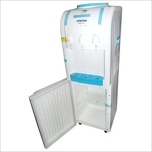Water Dispenser with Refrigerator Cabinet