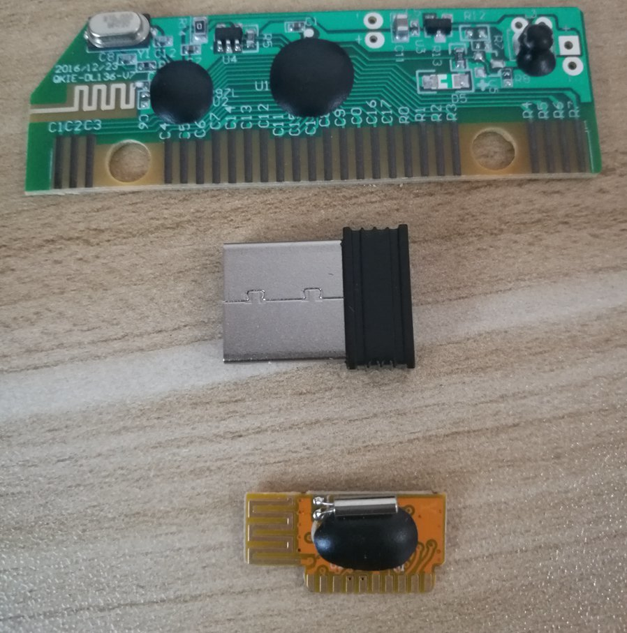 Wireless Mouse Universal Rf Module And Wireless Keyboad Dedicated Pcba Share Same Reciever Combo Set
