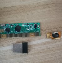 Wireless Mouse Universal Rf Module And Wireless Keyboad Dedicated Pcba Share Same Reciever Combo Set