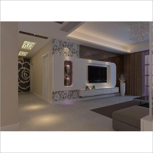 Wall Mounted LED TV Unit