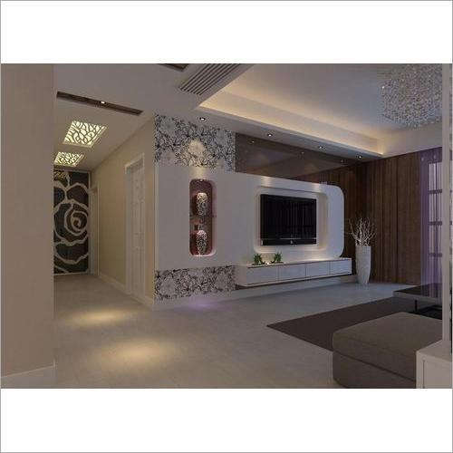 Wall Mounted LED TV Unit