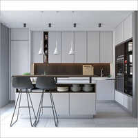 Sleek Modular Kitchen