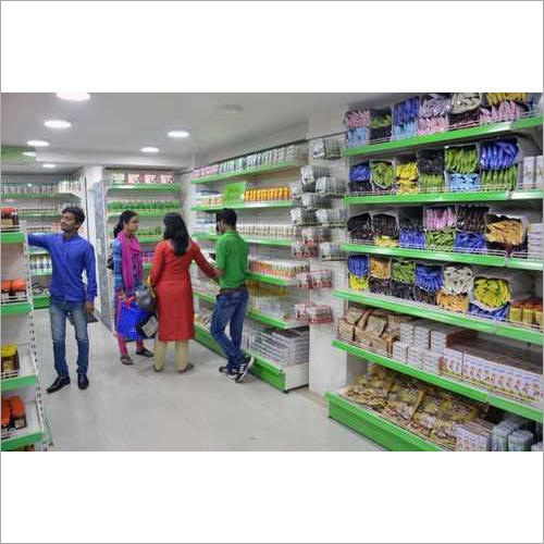 Super Market Store Display Rack