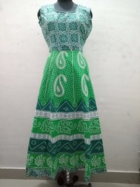 Cotton Jaipuri Printed Dress
