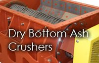 Dry Bottom Ash Crushers