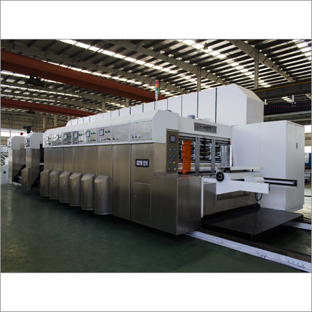 Printer Dryer Die Cutter Machine