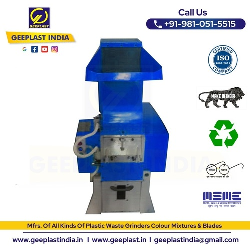Plastic Shredder Grinder Machine
