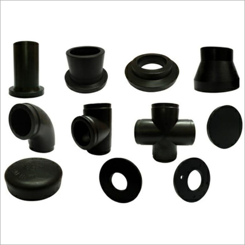 Black HDPE Pipe Fitting