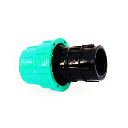 PP Compression Female Threads Adapter