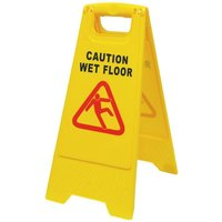 Caution Board Wet Floor