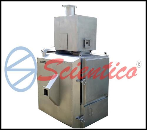 Smokeless cheap hospital medical waste incinerator