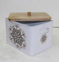 金属储藏盒