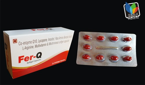 Co- Enzyme Q 10, Lycopene Inositol Capsule