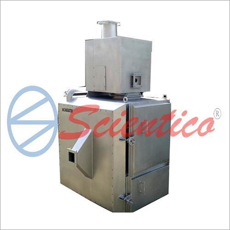 Professional medical waste incinerator